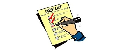 Checklist for trading forex